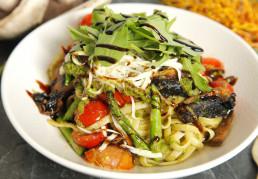 Roast Asparagus & Cherry Tomato Linguine