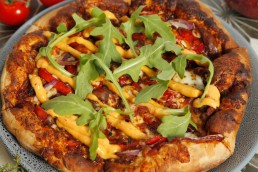 Spiced Lamb Shank Pizza