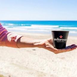 Stellarossa Coffee is the Perfect Beach Companion!