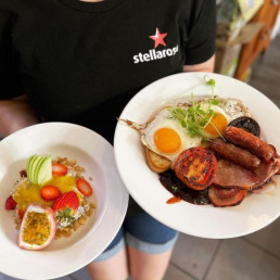 Healthy and Sweet or Hearty and Savoury - Stellarossa Coolum has a brekky for everyone!